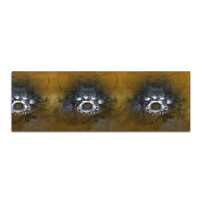 PaulSinusArt Enigma Panorama Abstrakt 425 Painting Print on Canvas