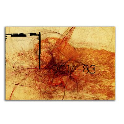 PaulSinusArt Enigma Abstrakt 158 Painting Print on Canvas