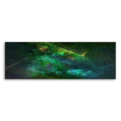 PaulSinusArt Enigma Panorama Abstrakt 1097 Painting Print on Canvas
