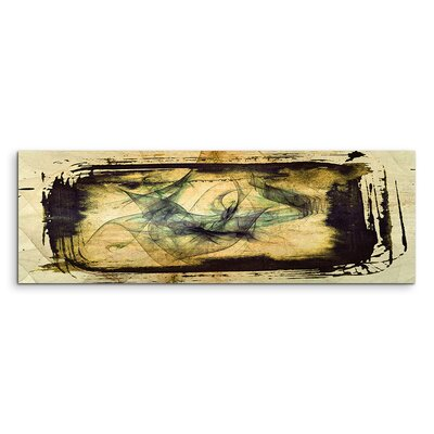 PaulSinusArt Enigma Panorama Abstrakt 1101 Painting Print on Canvas