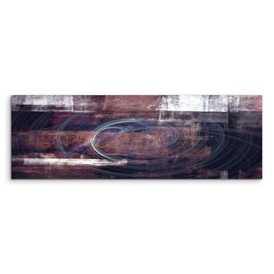 PaulSinusArt Enigma Panorama Abstrakt 1102 Painting Print on Canvas