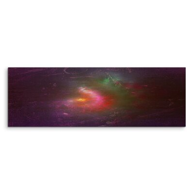 PaulSinusArt Enigma Panorama Abstrakt 1104 Painting Print on Canvas