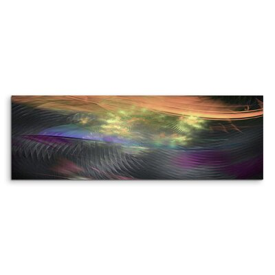PaulSinusArt Enigma Panorama Abstrakt 11119 Painting Print on Canvas