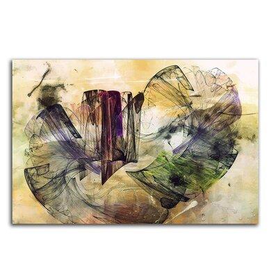 PaulSinusArt Enigma Abstrakt 359 Painting Print on Canvas