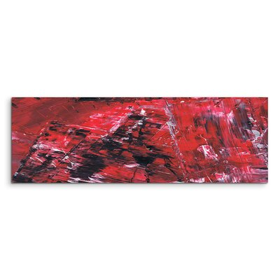 PaulSinusArt Enigma Panorama Abstrakt 507 Painting Print on Canvas