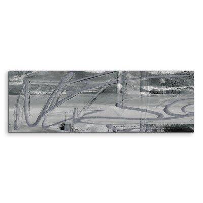 PaulSinusArt Enigma Panorama Abstrakt 508 Painting Print on Canvas