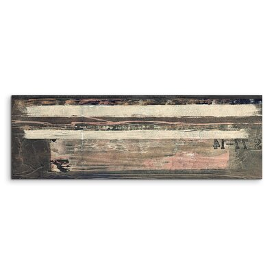 PaulSinusArt Enigma Panorama Abstrakt 511 Painting Print on Canvas