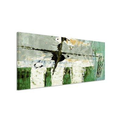 PaulSinusArt Enigma Panorama Abstrakt 524 Painting Print on Canvas