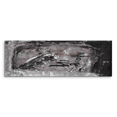 PaulSinusArt Enigma Panorama Abstrakt 721 Painting Print on Canvas