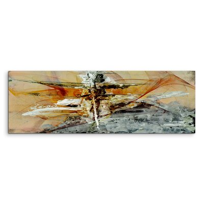 PaulSinusArt Enigma Panorama Abstrakt 725 Painting Print on Canvas
