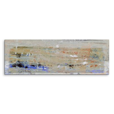 PaulSinusArt Enigma Panorama Abstrakt 730 Painting Print on Canvas