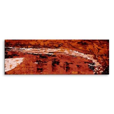 PaulSinusArt Enigma Panorama Abstrakt 731 Painting Print on Canvas