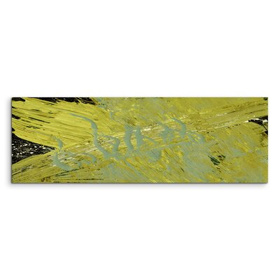 PaulSinusArt Enigma Panorama Abstrakt 732 Painting Print on Canvas