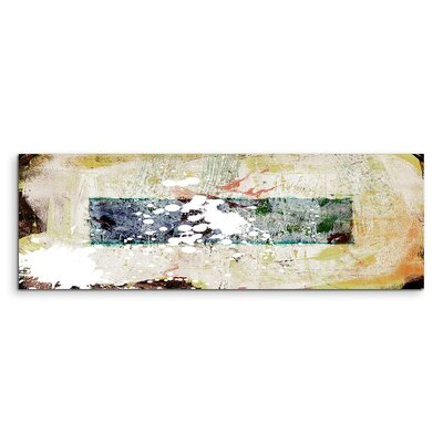 PaulSinusArt Enigma Panorama Abstrakt 740 Painting Print on Canvas