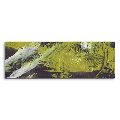 PaulSinusArt Enigma Panorama Abstrakt 894 Painting Print on Canvas