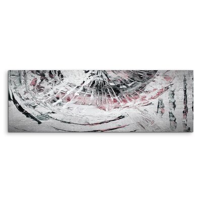PaulSinusArt Enigma Panorama Abstrakt 895 Painting Print on Canvas