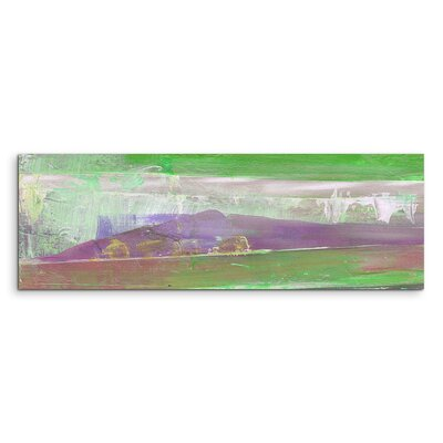 PaulSinusArt Enigma Panorama Abstrakt 896 Painting Print on Canvas