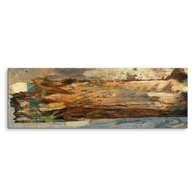 PaulSinusArt Enigma Panorama Abstrakt 898 Painting Print on Canvas