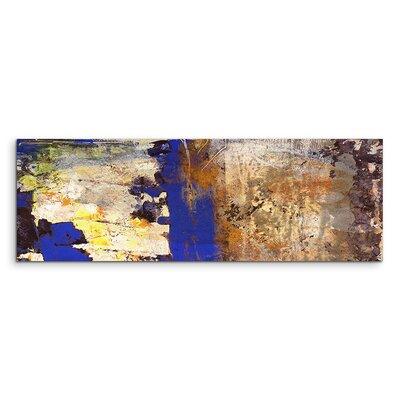 PaulSinusArt Enigma Panorama Abstrakt 900 Painting Print on Canvas