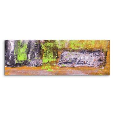 PaulSinusArt Enigma Panorama Abstrakt 902 Painting Print on Canvas