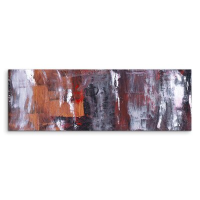 PaulSinusArt Enigma Panorama Abstrakt 904 Painting Print on Canvas