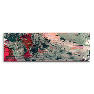 PaulSinusArt Enigma Panorama Abstrakt 906 Painting Print on Canvas