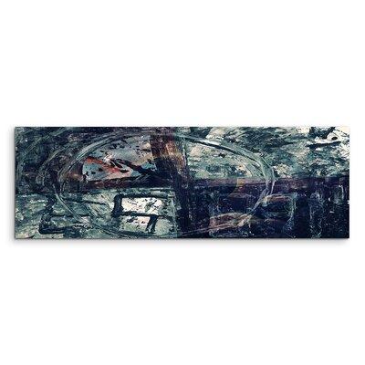 PaulSinusArt Enigma Panorama Abstrakt 907 Painting Print on Canvas