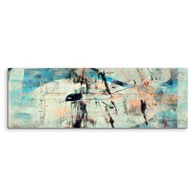 PaulSinusArt Enigma Panorama Abstrakt 908 Painting Print on Canvas