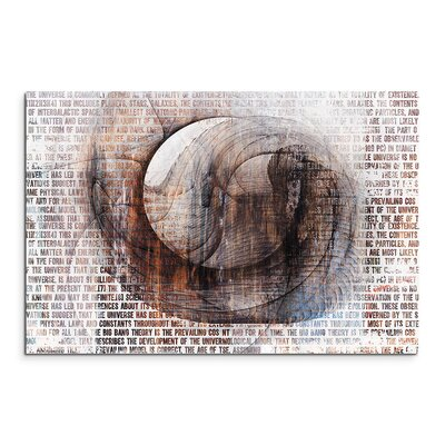 PaulSinusArt Enigma Abstrakt 1317 Painting Print on Canvas