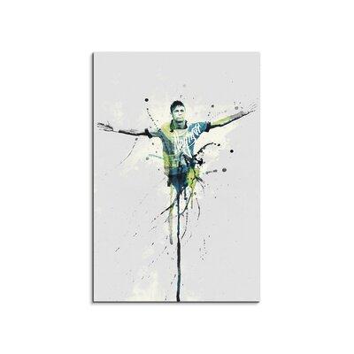 PaulSinusArt Enigma Neymar Painting Print on Canvas