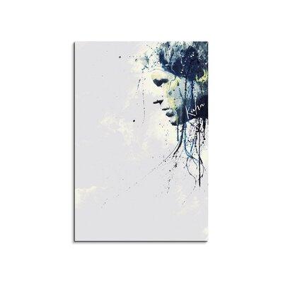 PaulSinusArt Enigma Oliver Kahn Painting Print on Canvas