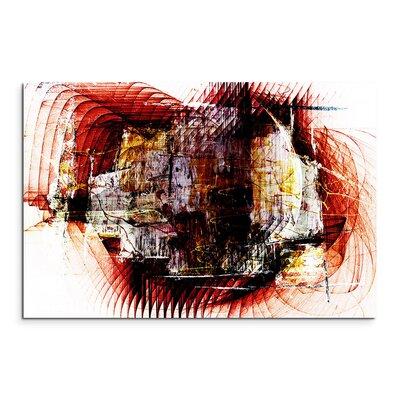 PaulSinusArt Enigma Abstrakt 1328 Painting Print on Canvas