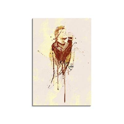 PaulSinusArt Enigma Oliver Kahn III Painting Print on Canvas