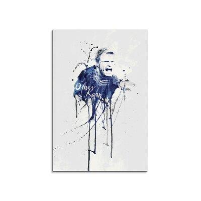 PaulSinusArt Enigma Oliver Kahn IV Painting Print on Canvas