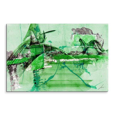 PaulSinusArt Enigma Abstrakt 719 Painting Print on Canvas