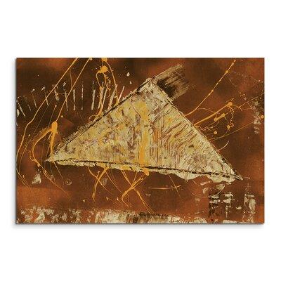 PaulSinusArt Enigma Abstrakt 724 Painting Print on Canvas