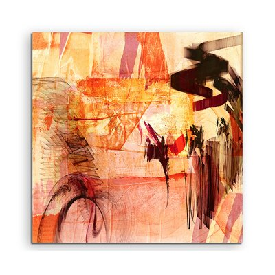 PaulSinusArt Enigma Abstrakt 766 Painting Print on Canvas