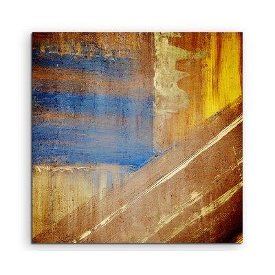 PaulSinusArt Enigma Abstrakt 937 Painting Print on Canvas