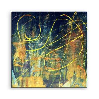 PaulSinusArt Enigma Abstrakt 946 Painting Print on Canvas