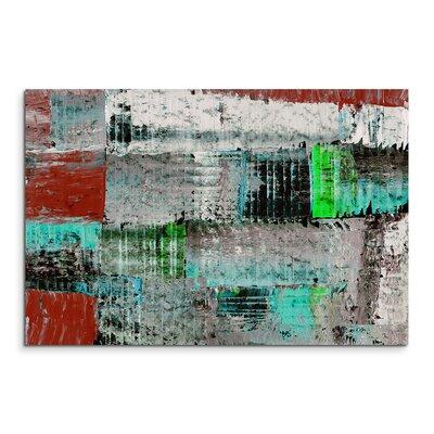 PaulSinusArt Enigma Abstrakt 923 Painting Print on Canvas