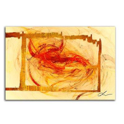 PaulSinusArt Enigma Abstrakt 127 Painting Print on Canvas