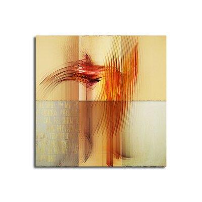 PaulSinusArt Enigma Abstrakt 063 Painting Print on Canvas