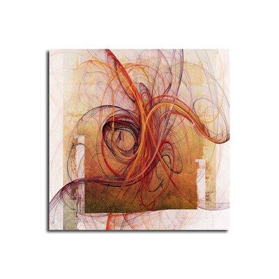 PaulSinusArt Enigma Abstrakt 070 Painting Print on Canvas
