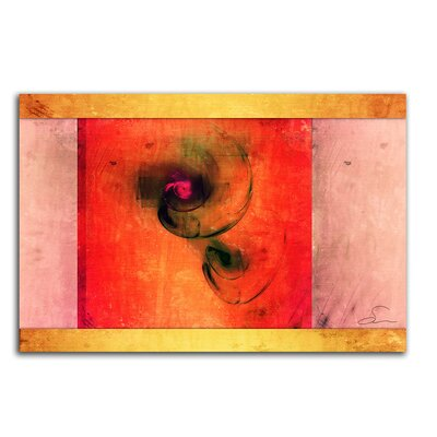PaulSinusArt Enigma Abstrakt 139 Painting Print on Canvas