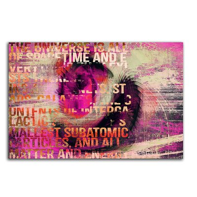 PaulSinusArt Enigma Abstrakt 143 Painting Print on Canvas