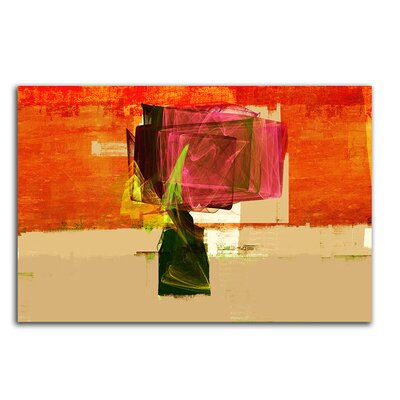 PaulSinusArt Enigma Abstrakt 144 Painting Print on Canvas