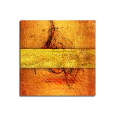 PaulSinusArt Enigma Abstrakt 074 Painting Print on Canvas
