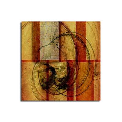 PaulSinusArt Enigma Abstrakt 078 Painting Print on Canvas