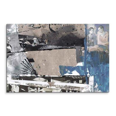 PaulSinusArt Enigma Abstrakt 521 Painting Print on Canvas
