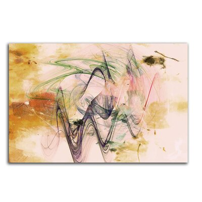 PaulSinusArt Enigma Abstrakt 329 Painting Print on Canvas